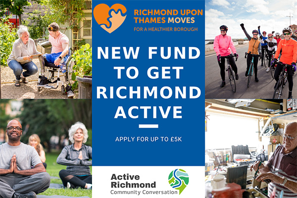 image - Funding to help Richmond upon Thames be more active