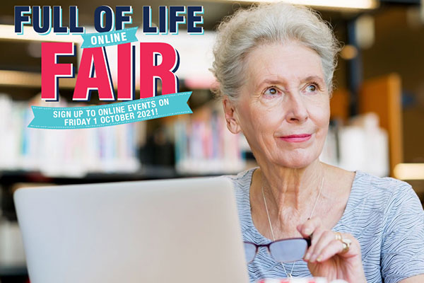 image - Register for the Full of Life Online Fair and discover what else is happening in the borough to celebrate Silver Sunday