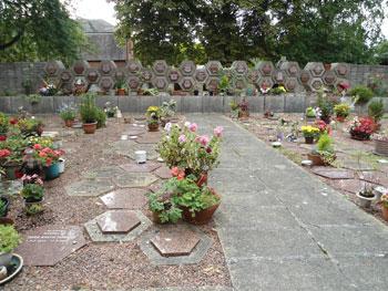 Columbarium At Hampton Cemetery London Borough Of Richmond Upon Thames