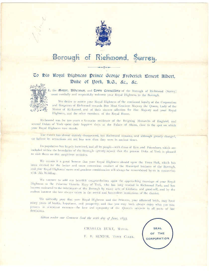 Transcript of the address.