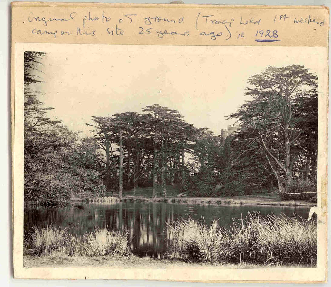Photo of Whitton Park, 1928