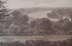 Old photograph of the view from Richmond Hill