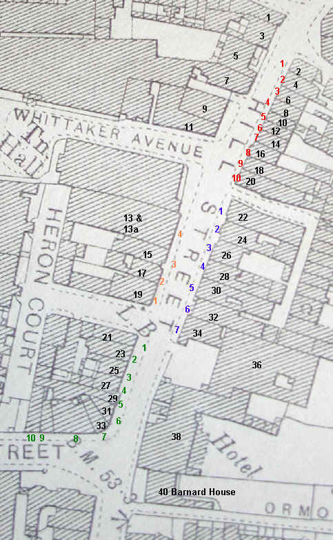 Interactive map of Victorian Hil Street